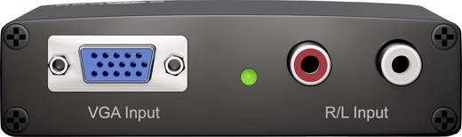 Goobay AV Konverter 58968 [VGA, Cinch - HDMI] 1920 x 1080 Pixel