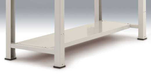 Manuflex ZB3602.9006 Zwischenboden für PROFI 1500 mm Einzelwerkbank ähnlich RAL 9006 alusilber (B x H x T) 1500 x 50 x 3