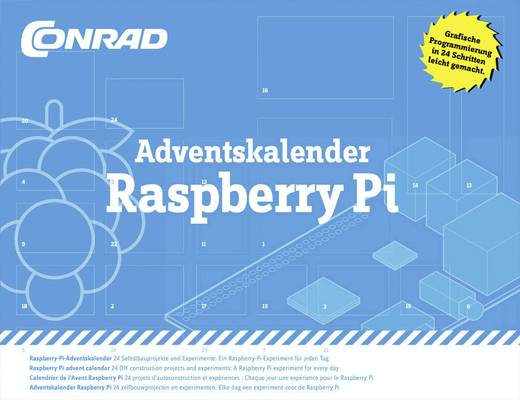 Adventskalender Conrad Adventskalender Raspberry Pi®