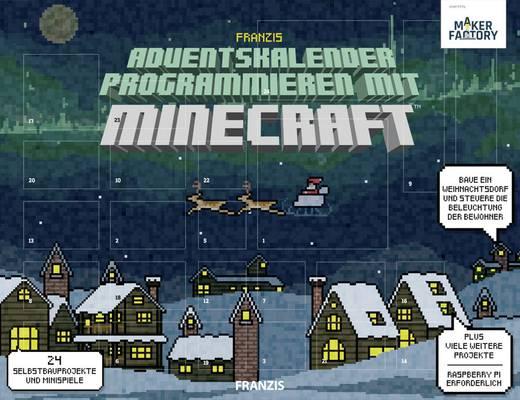 Adventskalender MAKERFACTORY Programmieren mit Minecraft™