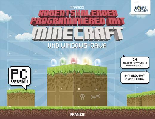 Adventskalender MAKERFACTORY Programmieren mit Minecraft™ und Windows-Java