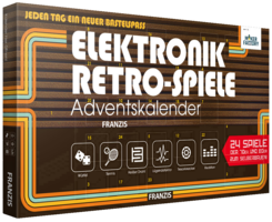Adventskalender MAKERFACTORY Elektronik Retro-Spiele