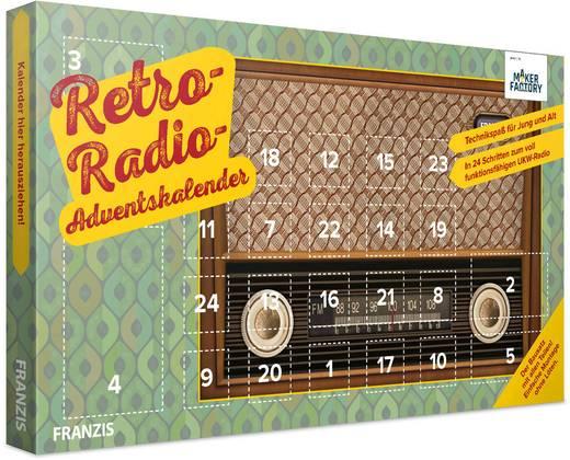 Adventskalender MAKERFACTORY Retro-Radio