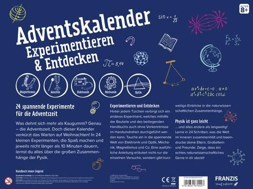 Adventskalender Franzis Verlag Experimentieren & Entdecken
