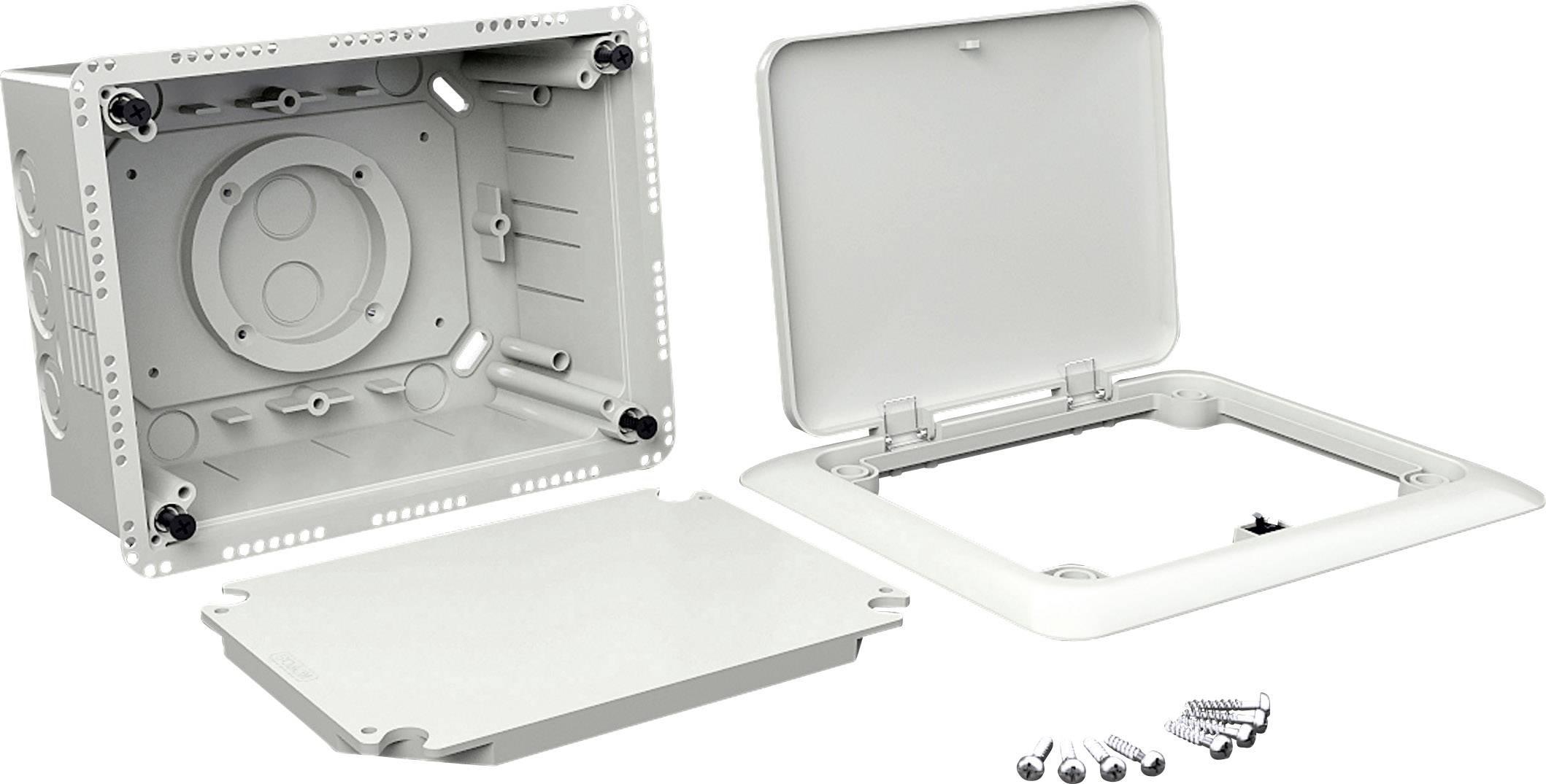 Kopos 10x 2-Fach Ger/ätedose Hohlwanddose Unterputz Orange Elektro Dose Installation Hohlwand