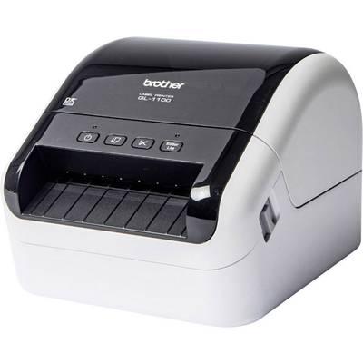 Brother QL-1100 Etiketten-Drucker Thermodirekt 300 x 300 dpi Etikettenbreite (max.): 103 m Preisvergleich