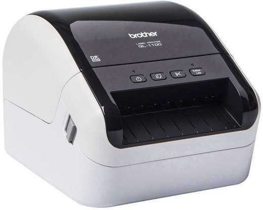 Brother QL-1100 Etiketten-Drucker Thermodirekt 300 x 300 dpi Etikettenbreite (max.): 103 mm Cutter