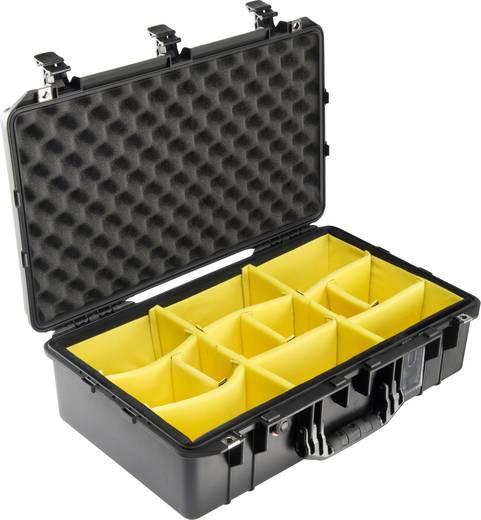 PELI Outdoor Koffer 1555AirWD,WL/WD (L x B x H) 629 x 393 x 209 mm Schwarz 015550-0040-110E