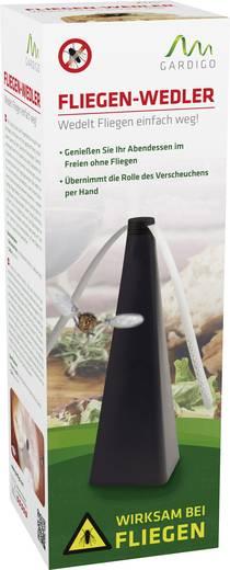 Insektenvertreiber Gardigo Fly Scare 25157 (B x H x T) 80 x 250 x 80 mm Schwarz 1 St.