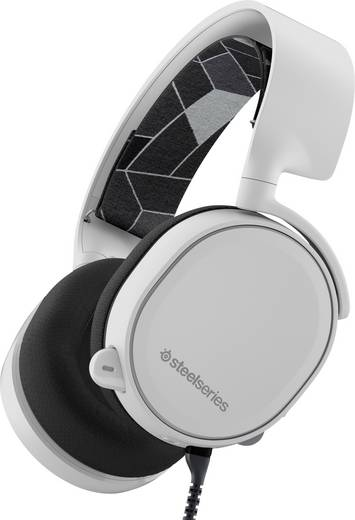Gaming Headset schnurgebunden Steelseries Arctis 3 Over Ear Weiß
