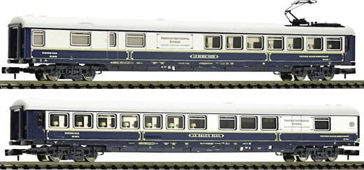Fleischmann 816203 N 2er-Set Salonwagen des PCE