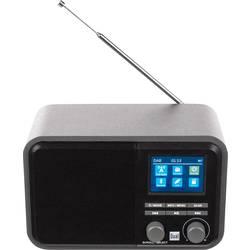 DAB+ stolné rádio Dual DAB 51, AUX, Bluetooth, DAB+, SD, UKW, USB, sivá