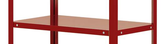 Etagenboden Stahlblech pulverbeschichtet Traglast (max.): 120 kg Licht-Grau Manuflex TT3615.7035