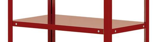 Etagenboden Stahlblech pulverbeschichtet Traglast (max.): 120 kg Rubin-Rot Manuflex TT3618.3003