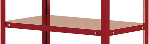 Etagenboden Stahlblech pulverbeschichtet Traglast (max.): 120 kg Alusilber Manuflex TT3613.9006