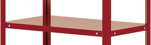 Etagenboden Stahlblech pulverbeschichtet Traglast (max.): 120 kg Rubin-Rot Manuflex TT3615.3003