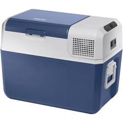 Přenosná lednice (autochladnička) MobiCool FR40 AC/DC, 12 V, 24 V, 230 V, 38 l, modrá, šedá