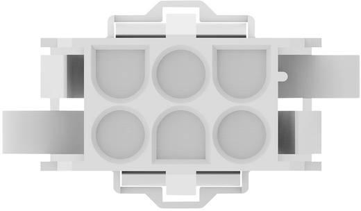 TE Connectivity Buchsengehäuse-Kabel MATE-N-LOK Polzahl Gesamt 6 Rastermaß: 6.35 mm 770027-1 1 St.