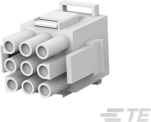 TE Connectivity Stiftgehäuse-Kabel MATE-N-LOK Polzahl Gesamt 9 Rastermaß: 6.35 mm 770021-1 1 St.