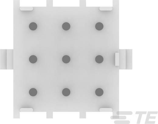 Buchsengehäuse-Platine MATE-N-LOK Polzahl Gesamt 9 TE Connectivity 350712-4 Rastermaß: 6.35 mm 1 St.