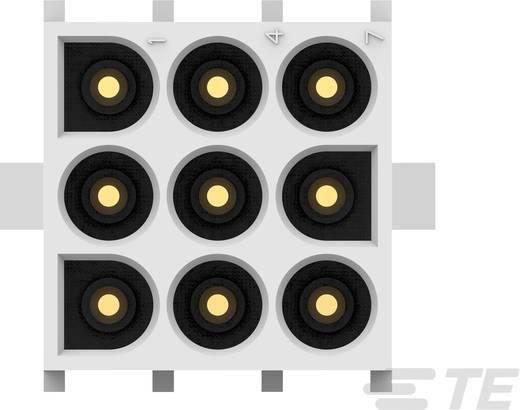 TE Connectivity Buchsengehäuse-Platine MATE-N-LOK Polzahl Gesamt 9 Rastermaß: 6.35 mm 350712-4 1 St.