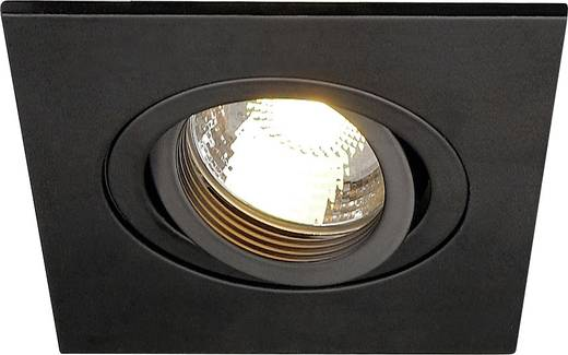 Einbauleuchte Halogen, LED GU10 50 W SLV 113450 New Trial XL Schwarz (matt)