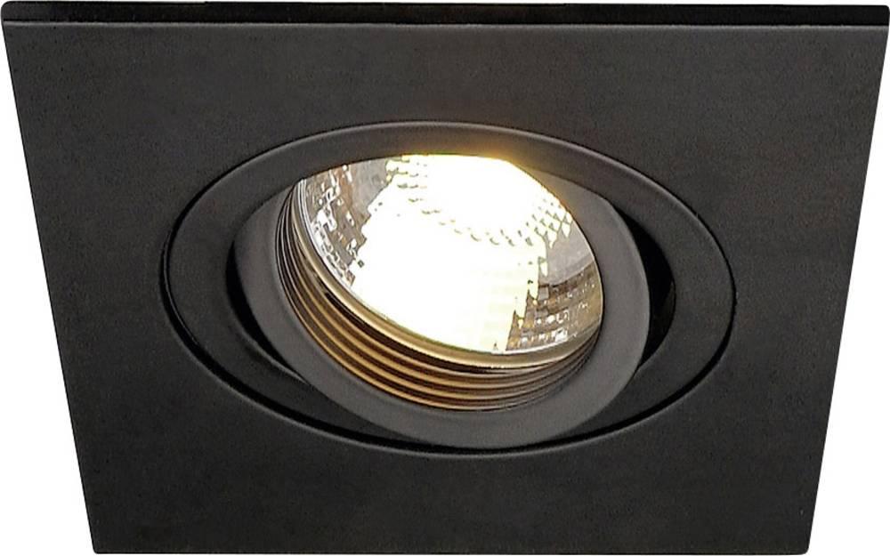 Slv Spot Salle De Bain ~ spot encastrable ampoule halog ne led gu10 slv 113450 50 w noir