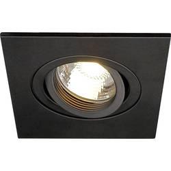 Vstavané svietidlo - halogénová žiarovka, LED SLV New Trial XL 113450 GU10, 50 W, čierna (matná)