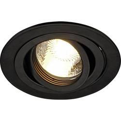 Vstavané svietidlo - LED , halogénová žiarovka SLV New Tria 1 111710 GU10, 50 W, čierna