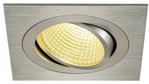 SLV New Tria 1 Set 114246 LED-Einbauleuchte 12 W Warm-Weiß Aluminium (gebürstet)