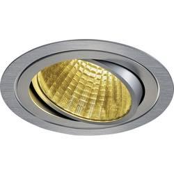 LED vestavné svítidlo SLV New Tria 1 Set 114266, 25 W, teplá bílá, hliník (kartáčovaný)