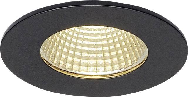 SLV Patta I 114420 LED Einbauleuchte 12 W Warmweiß Schwarz (matt)
