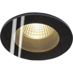 LED vestavné svítidlo SLV Patta-F 114440, 12 W, teplá bílá, černá (matná)