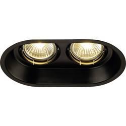 Vestavné svítidlo - LED SLV Horn 113110 GU10, 100 W, černá (matná)