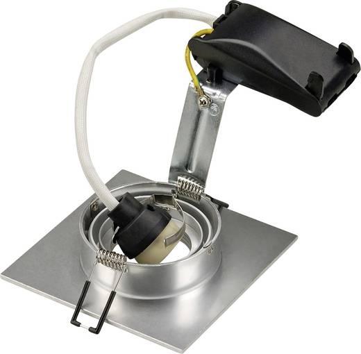 Einbauleuchte Halogen, LED GU10 50 W SLV 113456 New Trial XL Aluminium (gebürstet)