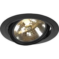 Vestavné svítidlo - LED, halogenová žárovka SLV New Tria 1 113520 G53, 75 W, černá (matná)