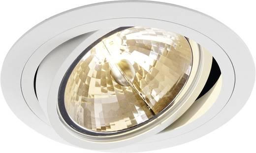 Einbauleuchte LED, Halogen G5.3 75 W SLV 113530 New Tria 1 Weiß (matt)