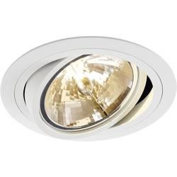 Vestavné svítidlo - LED, halogenová žárovka SLV New Tria 1 113530 G53, 75 W, matná bílá
