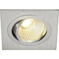 LED vestavné svítidlo SLV New Tria 113886, 6 W, teplá bílá, hliník (kartáčovaný)