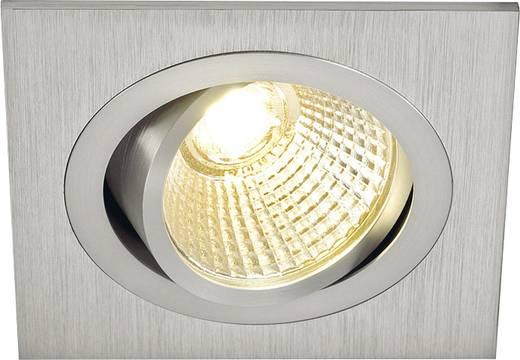 SLV New Tria 113886 LED-Einbauleuchte 6 W Warm-Weiß Aluminium (gebürstet)