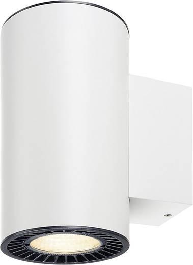 LED-Wandleuchte 30.4 W Warm-Weiß SLV Supros 114141 Weiß
