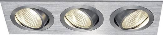 LED-Einbauleuchte 19.8 W Warm-Weiß SLV New Tria 3 Set 114216 Aluminium (gebürstet)