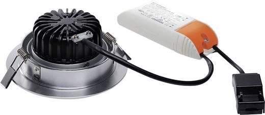 SLV New Tria 1 Set 114236 LED-Einbauleuchte 12 W Warm-Weiß Aluminium (gebürstet)