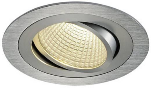 LED-Einbauleuchte 12 W Warm-Weiß SLV New Tria 1 Set 114236 Aluminium (gebürstet)