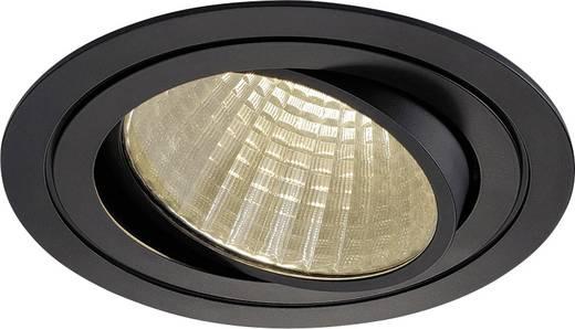 LED-Einbauleuchte 25 W Warm-Weiß SLV New Tria 1 Set 114270 Schwarz (matt)