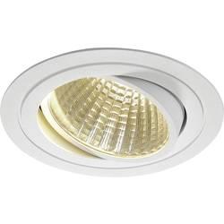 LED vestavné svítidlo SLV New Tria 1 Set 114271, 25 W, teplá bílá, matná bílá