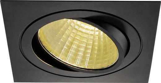 SLV New Tria 1 Set 114280 LED-Einbauleuchte 25 W Warm-Weiß Schwarz (matt)
