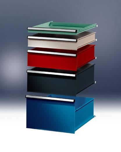 Manuflex SP0022.0001 Blockschubfach mit Lochboden 150 KRIEG-Hausfarbe graugrün (B x H x T) 460 x 150 x 580 mm