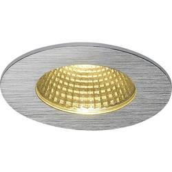 LED vestavné svítidlo SLV Patta-I 114426, 12 W, teplá bílá, hliník (kartáčovaný)