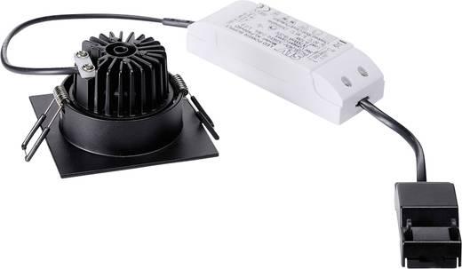 SLV Patta-I 114430 LED-Einbauleuchte 12 W Warm-Weiß Schwarz (matt)